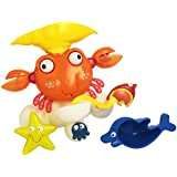 LEXIBOOK- IT025 - Jouet de bain - Crabe de bain
