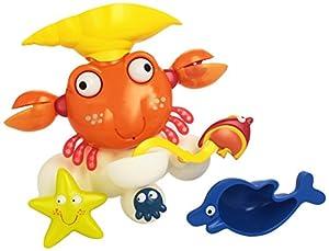 LEXIBOOK (IT025 Cangrejo de baño, Juguete para Bebe a Partir de 12 Meses, Multicolor