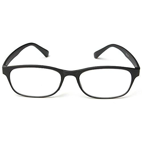 RanDal Black Matte Surface Reading Glasses Portable Reading Glasses - 3.0