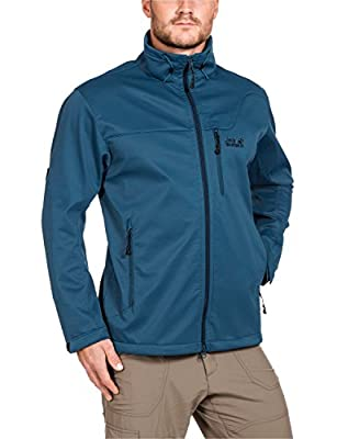 Jack Wolfskin Herren Softshelljacke Assembly Jacket Men von Jack Wolfskin - Outdoor Shop