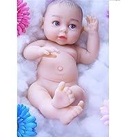 Love Home Muñecas De Bebé Realistas Realistas De 39 Cm La Verdadera Mirada Real Muñeca Realista con Metal Esqueleto Silicona Entidad Muñecas Chica