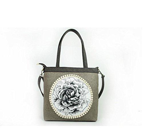 HYLM Linge de style chinois Le nouveau sac à main oblique féminin Sac à main original Folk-Custom , t03