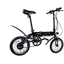 SK8 eBike Urban Beetle Bicicleta Eléctrica Plegable, ...
