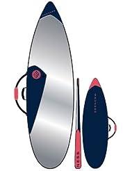 "HOUSSE DE SURF SHORTBOARD 7'2"" PE MADNESS BLEU"