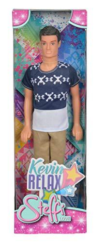 Simba 105731629 - Steffi Love Kevin Puppe mit sportlicher Kleidung, 3-sort.