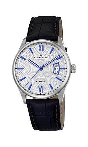 Candino Reloj Análogo clásico para Hombre de Cuarzo con Correa en Cuero C4691/1