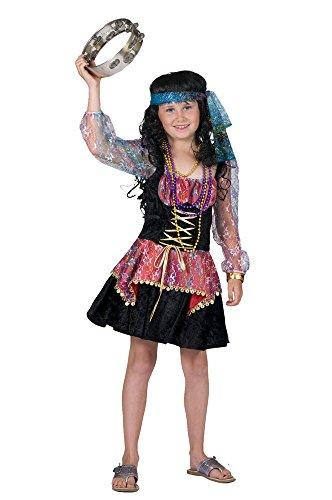 Zigeunerin Orient Kostüm für Mädchen Gr. 128