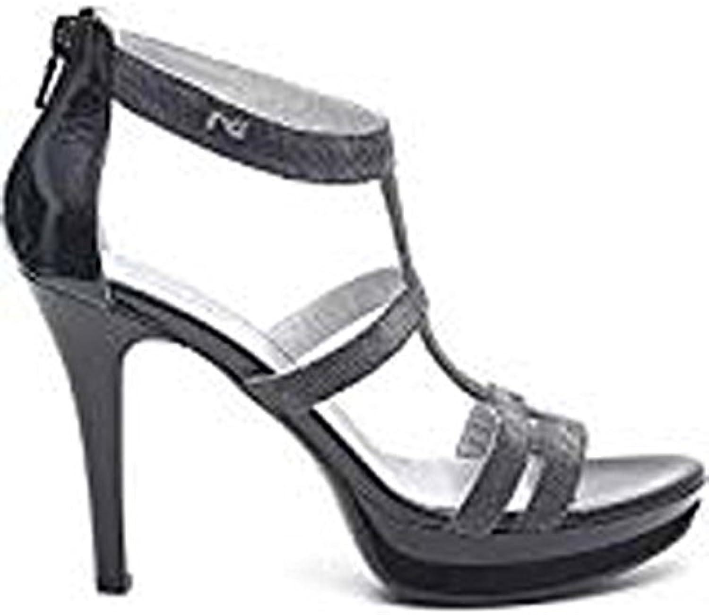 Nero Giardini Sandalo Sandalo Sandalo Notturno Nero P512991DE 100 | ecologico  | Gentiluomo/Signora Scarpa  65e8d0