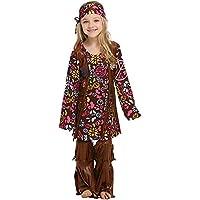 Amazon.it  Vestito Hippie - Bambini   Costumi  Giochi e giocattoli 361abdbbb0b