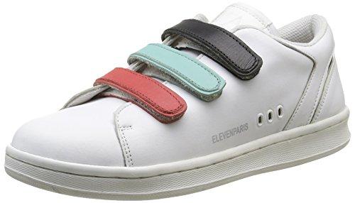 Eleven Paris11PRS - Scarpe da Ginnastica Basse Donna , Multicolore (Multicolore (Velcro Multico)), 39