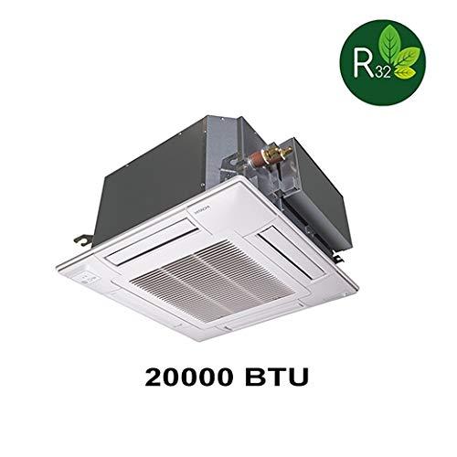 Climatizzatore inverter HITACHI Light Commercial R32-20000 BTU climatizzatore cassette 4 vie RAC-60NPD + RAI-60PPD