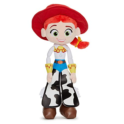Posh Paws 37269 Disney Pixar Toy Story 4 Jessie Plüschpuppe in Geschenkbox, Mehrfarbig