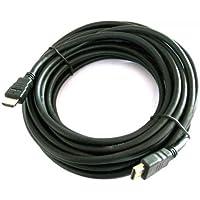 Kein Hersteller - Cable HDMI de alta velocidad para 3D con soporte para Ethernet (20 m, Full HD)