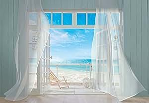 komar fototapete malibu california beach 368 x 254 cm 8 teilig bay view baumarkt. Black Bedroom Furniture Sets. Home Design Ideas