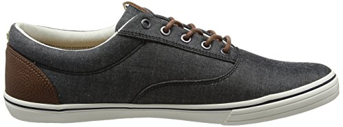 Jack & Jones Jfwvision Chambray Mix SS Anthracite, Sneakers Basses Homme Gris (Anthracite)
