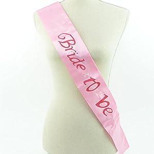 Gifts 4 All Occasions Limited SHATCHI-1269 Shatchi Bride to Be - Banda intermitente, color rosa, para fiestas, despedidas de soltera, bodas, accesorios de decoración
