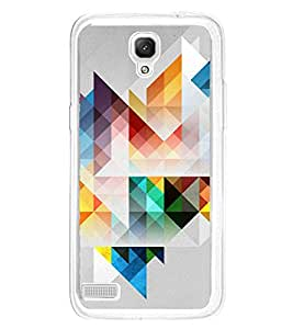 Colourful Geometrical Pattern 2D Hard Polycarbonate Designer Back Case Cover for Xiaomi Redmi Note :: Xiaomi Redmi Note 4G