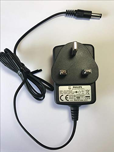 25V 0.45A 11.25VA Cargador para Philips FC6182 PowerPro Duo 2 en 1 Aspirador inalámbrico