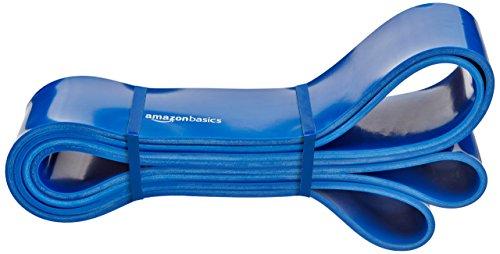 AmazonBasics - Banda elástica de resistencia y dominadas, 29,5 a 79,4 kg 6,35 cm de ancho