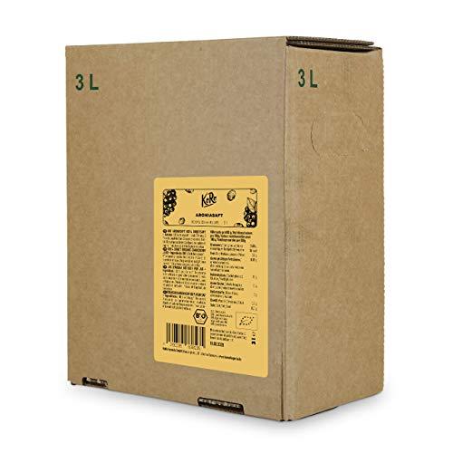 Antioxidative Orac-wert (KoRo - Bio Aronia Saft Bag-in-Box 3 L - 100% Direktsaft aus Bio Aronia, naturbelassen und ohne Zuckerzusatz)