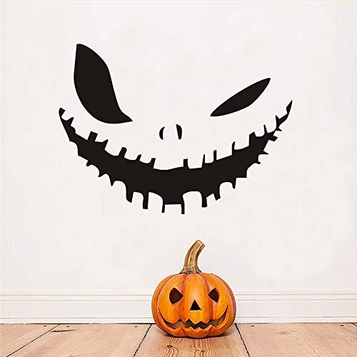 Wangjingxi Kürbis Gesicht Happy Halloween Party Decals Moderne Wandaufkleber Für Schlafzimmer Wohnzimmer Wohnkultur Wasserdicht Zubehör Tapete