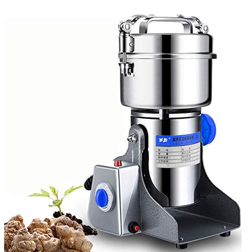 Buy beauty Y159 New 600g Multifunctional Portable Grinder Herb Flood Flour Pulverizer Food Mill Grinding Machine Electric pepper mill