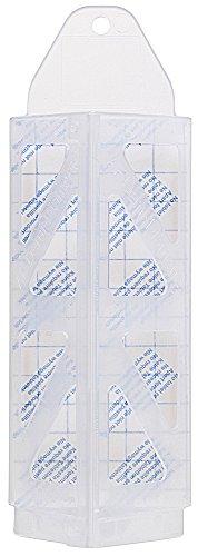 Pièges pour mites vestimentaires demi-losange avec phéromones de Pest Expert (9 x piège, 30 x blocs / plaquettes de phéromones)