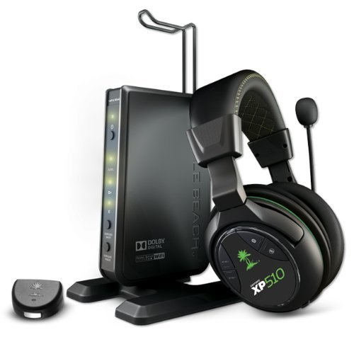 Turtle Beach Ear Force XP510 Premium Wireless Dolby Digital PS4, PS3, Xbox 360 Gaming Headset by Turtle Beach