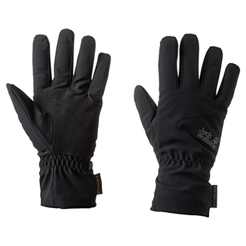 Jack Wolfskin Storm Lock High Loft Handschuhe Medium schwarz Storm Soft Shell