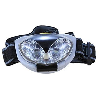 Headlamp - SODIAL(R)6 LED wasserdicht Kopflampe Stirnlampe Fahrrad Headlampe Headlight - 3 modi, 3 X AAA Batterien