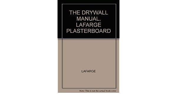 lafarge drywall manual