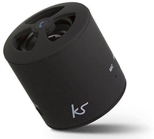 KitSound PocketBoom Universal Bluetooth Lautsprecher Tragbar Wiederaufladbar mit Freisprecheinrichtung Kompatibel mit Smartphones, Tablets und MP3 Geräten einschl. iPhone 4/4S/5/5S/5C/6/6 Plus/6S/6S Plus, iPad 2/3/4/Air/Mini/Pro, iPod Nano 7, iPod Touch 5, Samsung Galaxy S2/S3/S4/S5/S6/S6 Edge/S6 Edge+, Galaxy Note 2/3, Galaxy Tab 2/3/4, Xperia Z1/Z2, HTC One/One M8 und Google Nexus 5/7/10 - Schwarz Htc Touch Pocket Pc