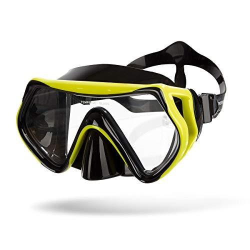 Sportastisch AUS SPITZENSPORTLER Test¹ Taucherbrille Dive Under mit Box, Antibeschlag Tauchmaske für Erwachsene & Kinder, Vollgesichtsmaske mit bis zu 3 Jahren Garantie² (schnorchelset schnorchel)
