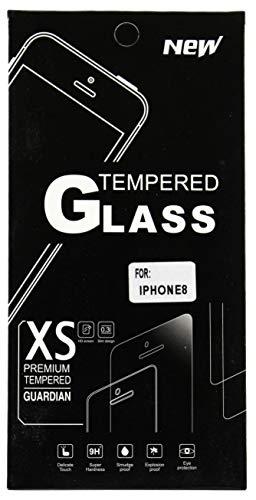 Buddystore [3 Stück] Panzerglas Premium Schutzfolie für iPhone 8/7 Anti Kratzer 9H Härte