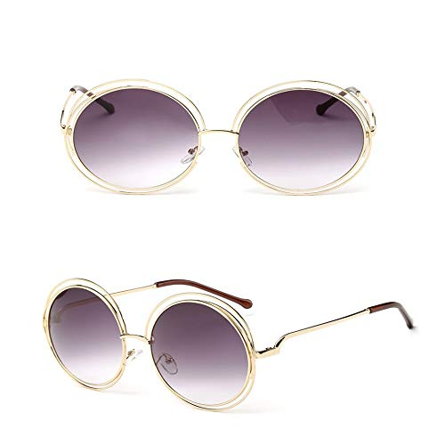 JYTDSA Fashion Sunglasses Women Small Frame Polygon Clear Lens Sunglasses Men Sun Glasses Hexagon Metal Frame