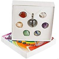 Chakra-Kristallsteine, Heilung, inkl. Geschenkbox preisvergleich bei billige-tabletten.eu