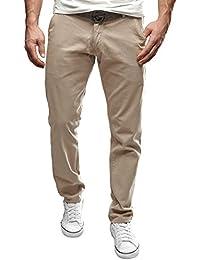 MERISH Hombres Chino-Pantalones casual y chic varios colores Pantalones conveniente para todas las ocasiones, Modell 49
