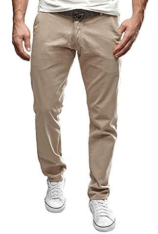 Merish Chino Pants Hose Neu Jeans 49 Hellgrau 36-32