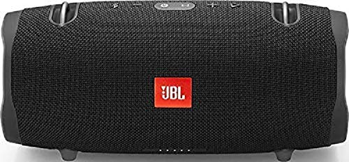 JBL Xtreme 2 Waterproof Bluetooth Speaker with Rechargeable Battery, Carry Strap Included, Black