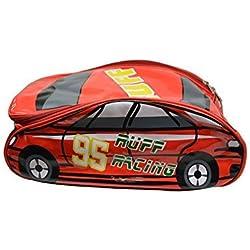 Revlon Charlie 315 Cms Red Soft Car Shape School Backpack Bag For Kids