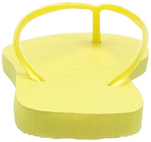Havaianas - Slim - Tongs - Fille Jaune (Light Yellow / 2531)