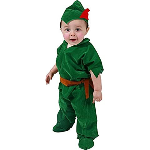 Deluxe Toddler Peter Pan Costume (Size:4T) by Top Trims