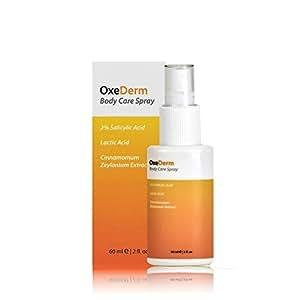OxeDerm Spray anti-acné à l'acide salicylique contre l'acné corporelle 60ml