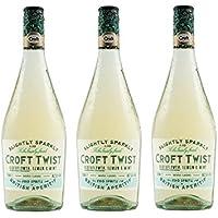 Croft Twist Vino Fino D.O. Jerez – 3 botellas de 750 ml – Total: 2250