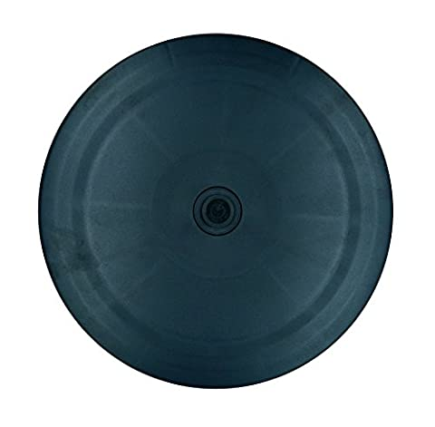 Wommty Home & de cuisine en acrylique Heavy Duty rotatif platine support pivotant avec roulements à billes en acier pour plateau tournant/Coin de cuisine Armoires à épices/décoration de gâteaux/TV pour ordinateur portable Computer support de moniteur/bijoux Visualizers/table 8 inch noir