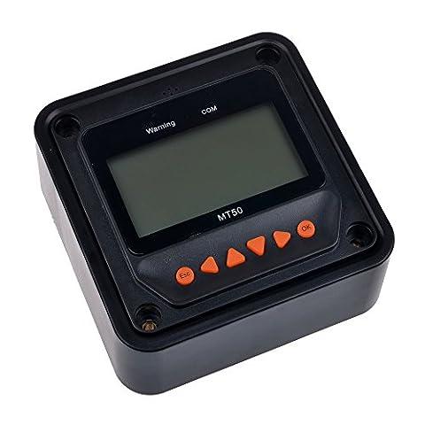 solarepic MT-50M Télécommande écran LCD pour régulateur solaire MPPT Tracer BN/Tracer une série