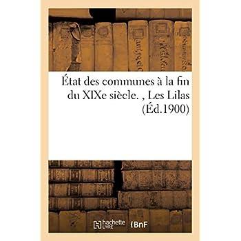 État des communes à la fin du XIXe siècle, Les Lilas