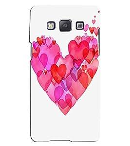 Citydreamz Pink Heart/Love/Valentine Hard Polycarbonate Designer Back Case Cover For Samsung Galaxy On5 Pro