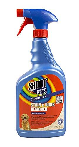 SHOUT für Haustiere Flecken Turbo Oxy Fleck & Geruch Entferner