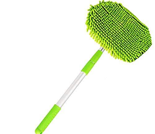 Brushes Car Duster, Mehrzweck-Mikrofaser-Waschbürste Fahrzeug-Innen- Und Außenreinigungs-Kit Mit Ausziehbarem Griff Für Auto, Fahrrad, Wohnmobil, Boot Oder Haus -